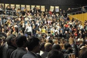 Ceremony crowd