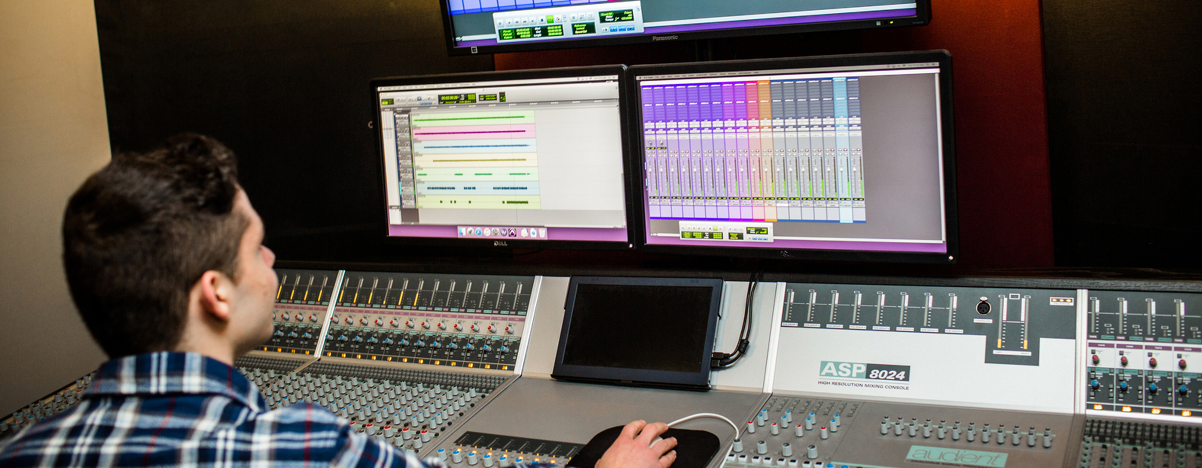 MWCC Media Arts & Technology Student at Sound Board