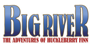 Big River, The Adventures of Huckleberry Finn Logo