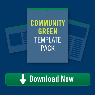 Community Green Template Pack