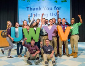 MWCC United Way Youth Venture Group at the Fall Kick Off Event