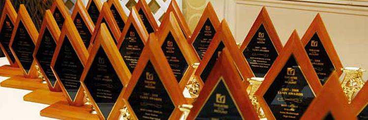 TAMY Award Trophies