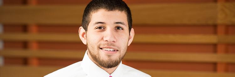 MWCC Gateway Student, Arturo