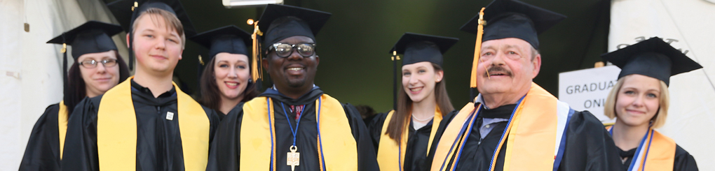 MWCC Honors Program Students at Graduation