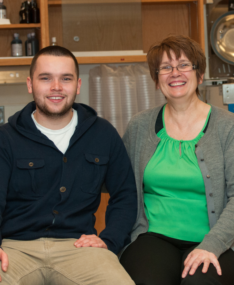 MWCC Pathways Student, Jack Reynolds, with his mom Ann