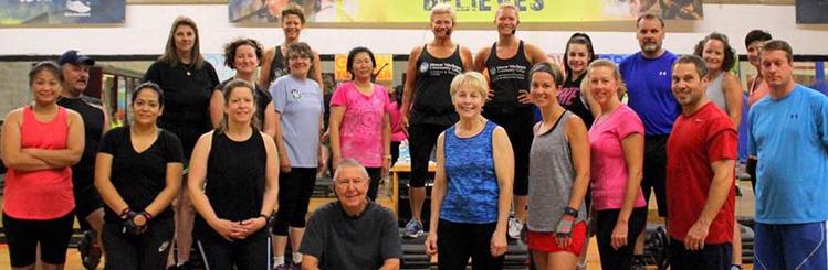 Mount Fitness Members