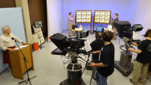 Media Arts & Technology - Video Students Recording the Annual Rotary Auction