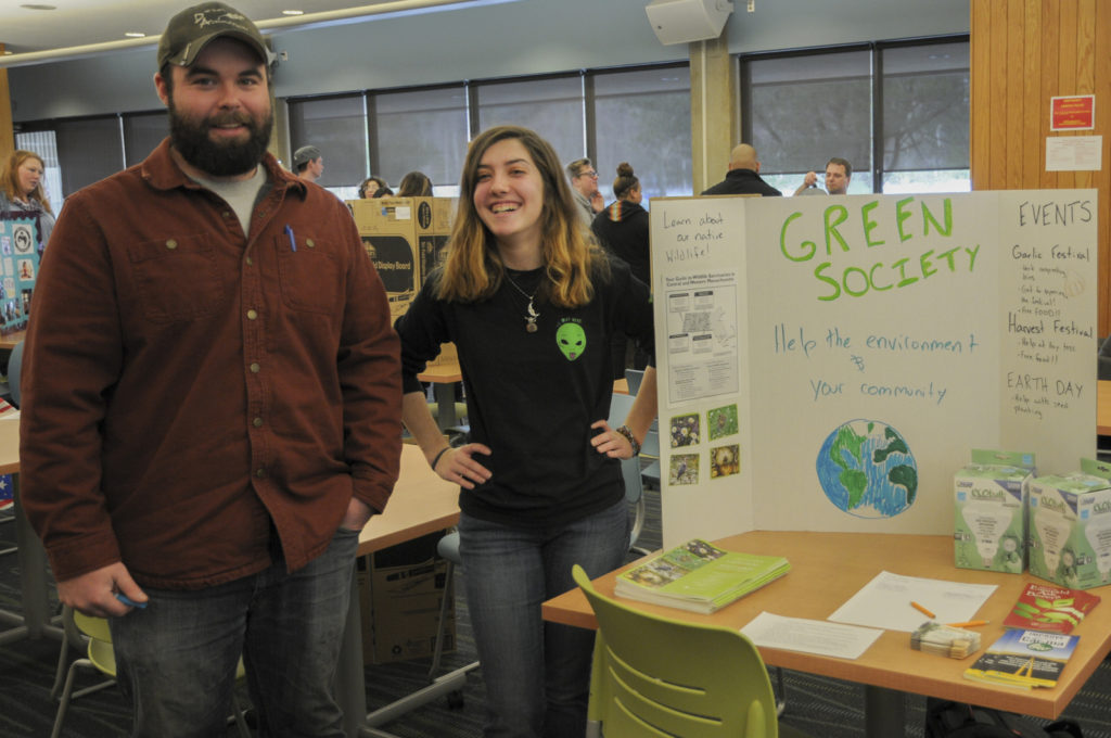 MWCC Green Society Club Students and Presentation