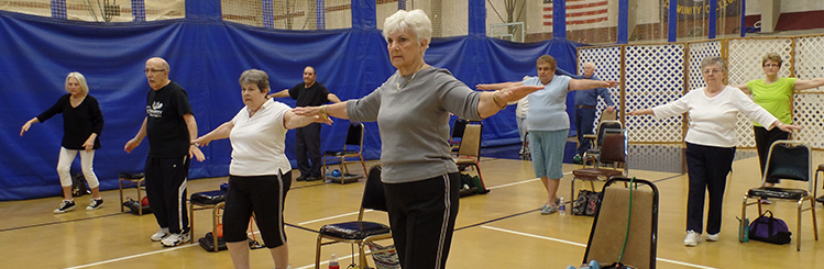 MWCC Group Fitness Class - Silver Sneakers