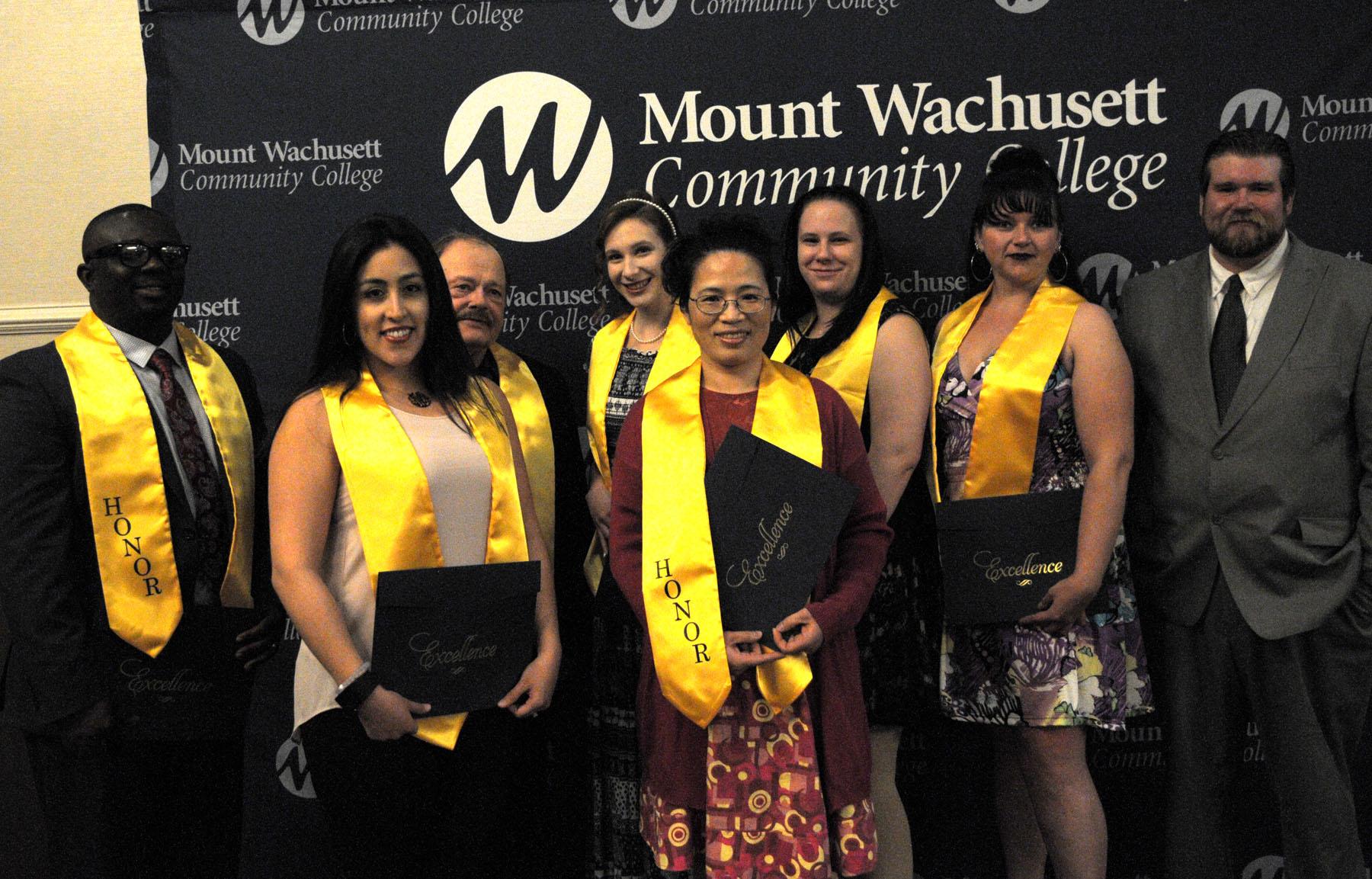 Honors Program grads with Dan Soucy