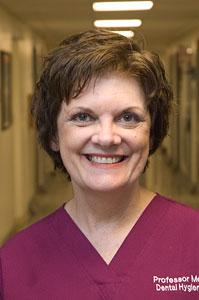MWCC Dental Faculty Ellen McCracken