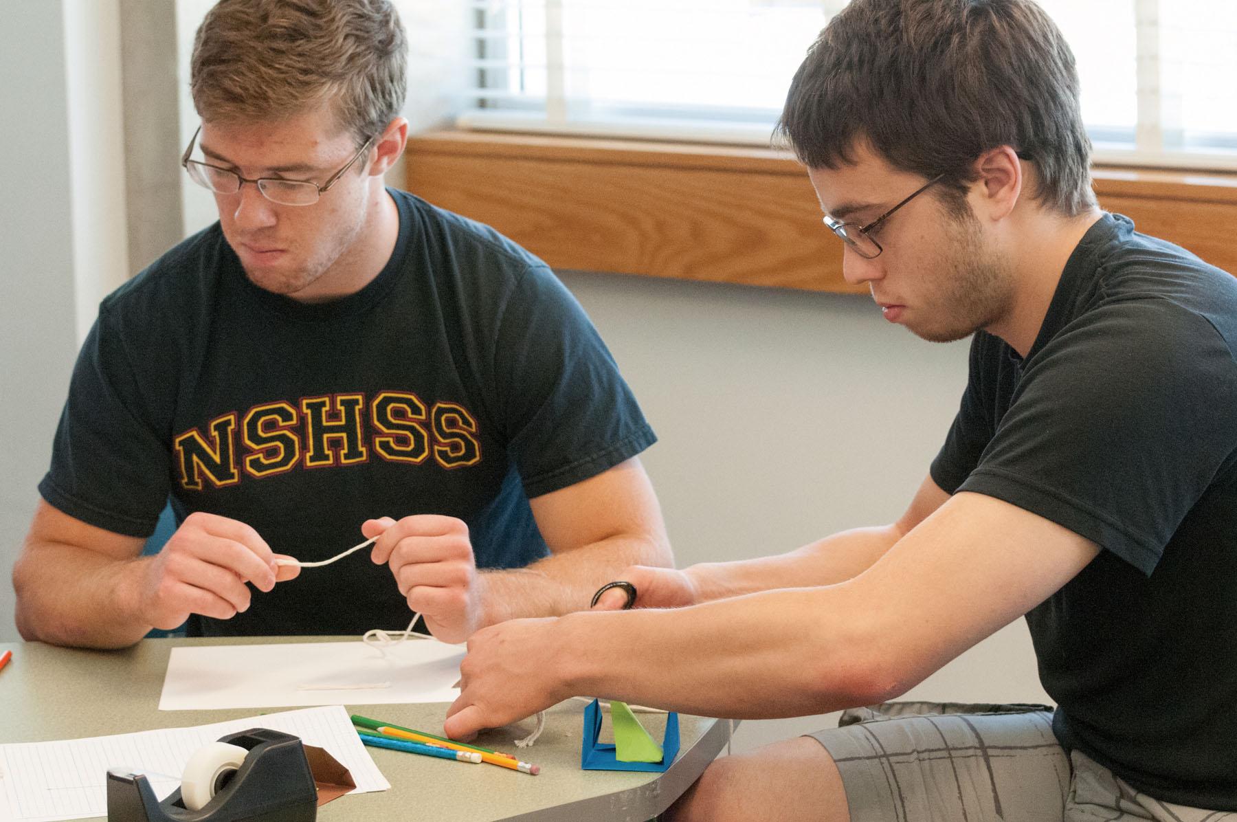 STEM Starter Summer Academy photo 2 Adam and Joe