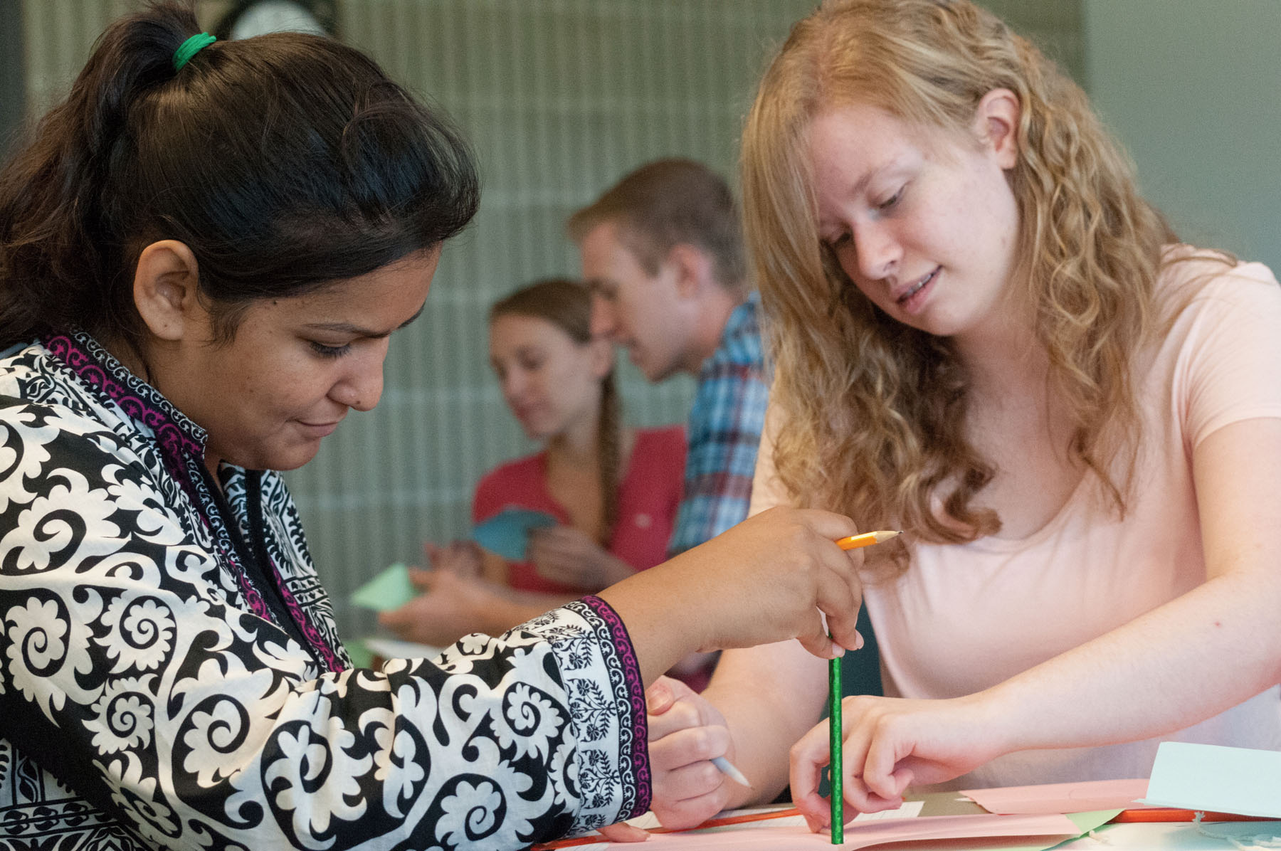 STEM Starter Summer Academy photo 3 Ifra and Marissa