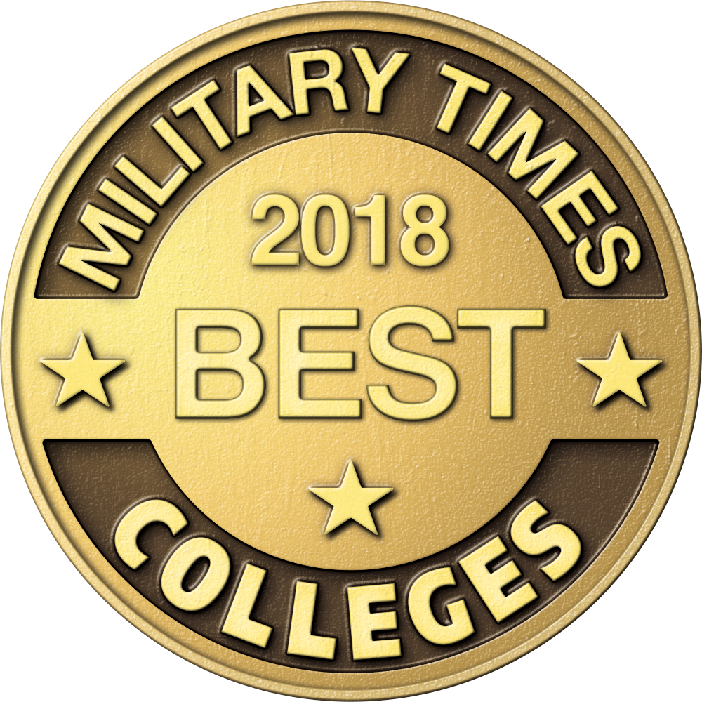 Military Times 2018 Best College For Veterans Logo