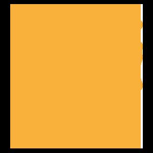 Orange Stack of Books Icon