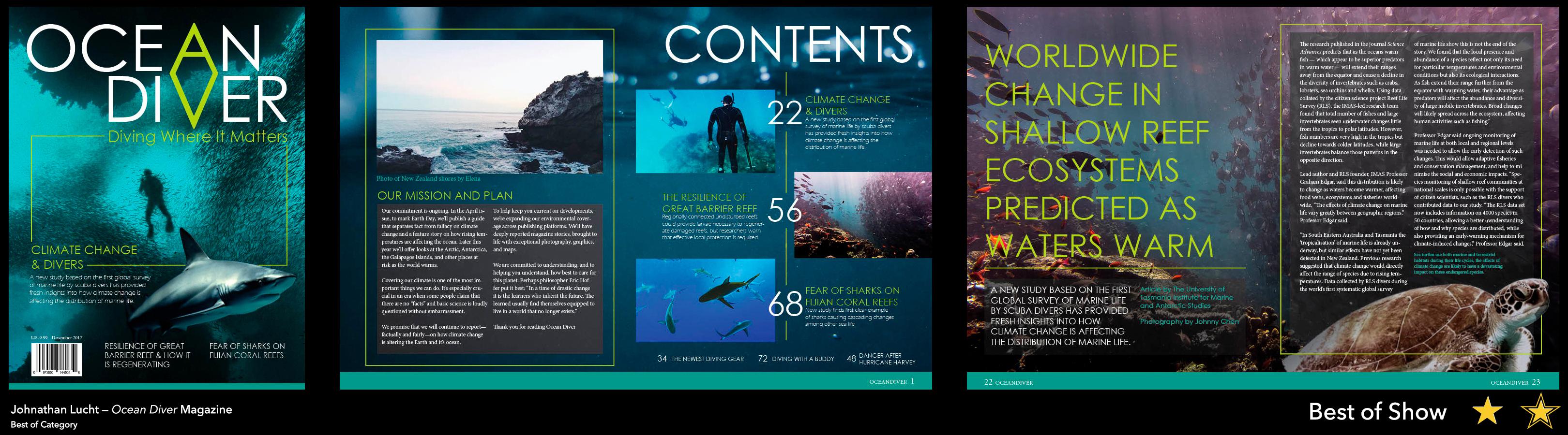 Ocean Diver Magazine