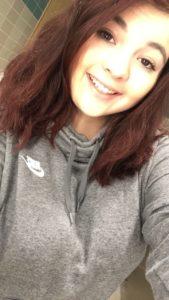 Ashley McHugh Selfie