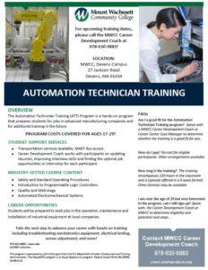 Automation Technician Flier