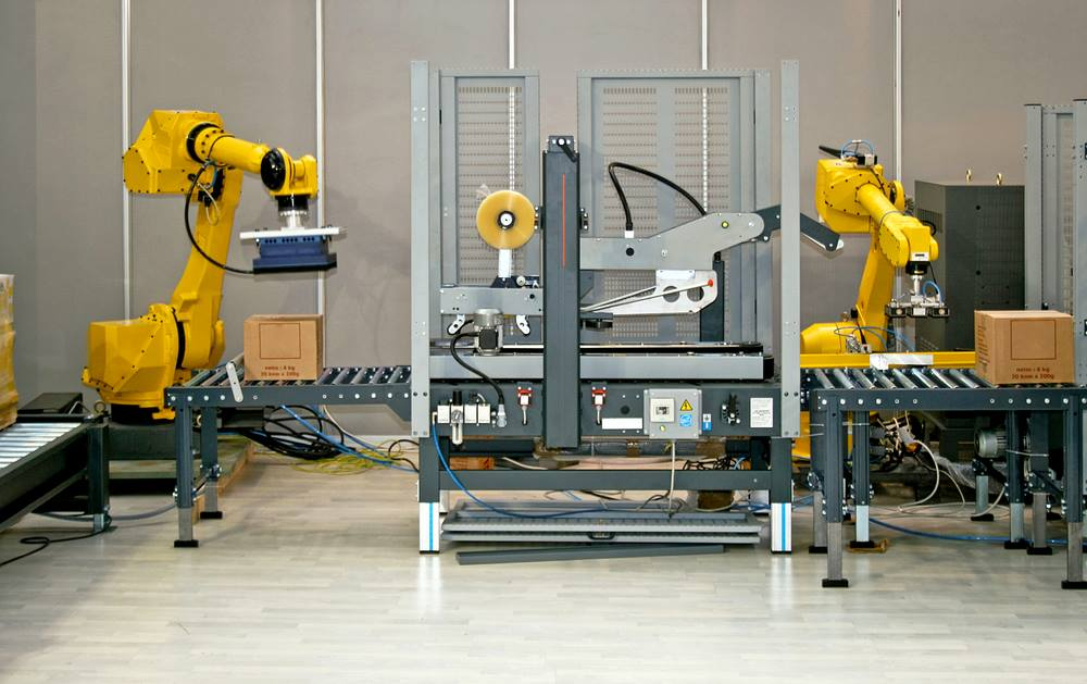 Robot used in manufacturing classrooms