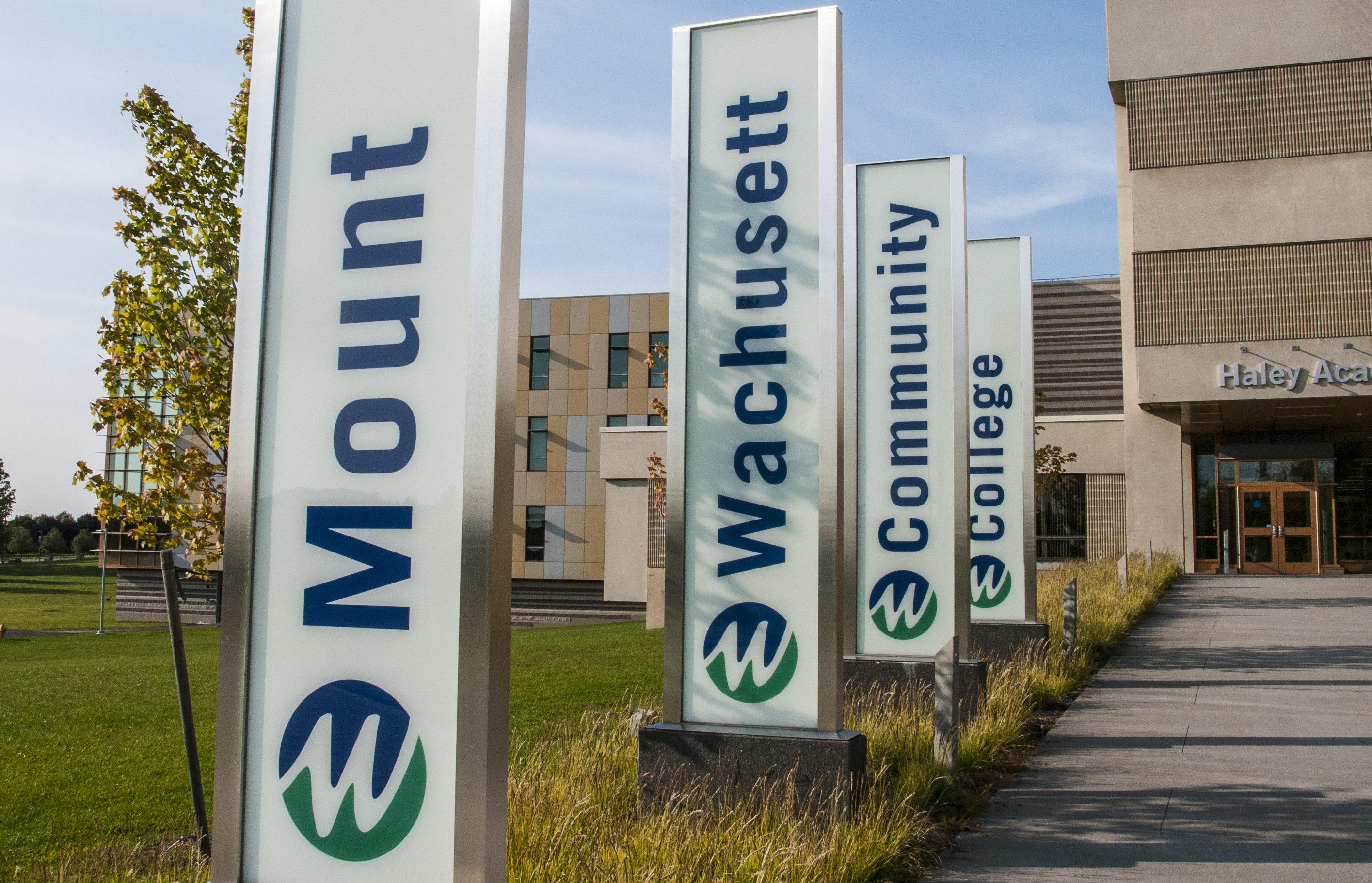 MWCC Gardner Campus Entrance
