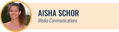 [headshot] Aisha Schor, Media Communications