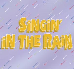 Singin in the Rain Show Logo
