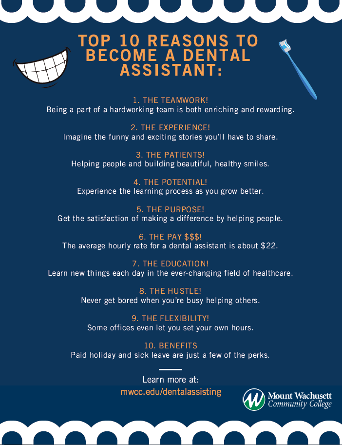 Top 10 Reasons to Become a Dental Assistant