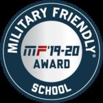 Military Friendly Designation 2019-2020