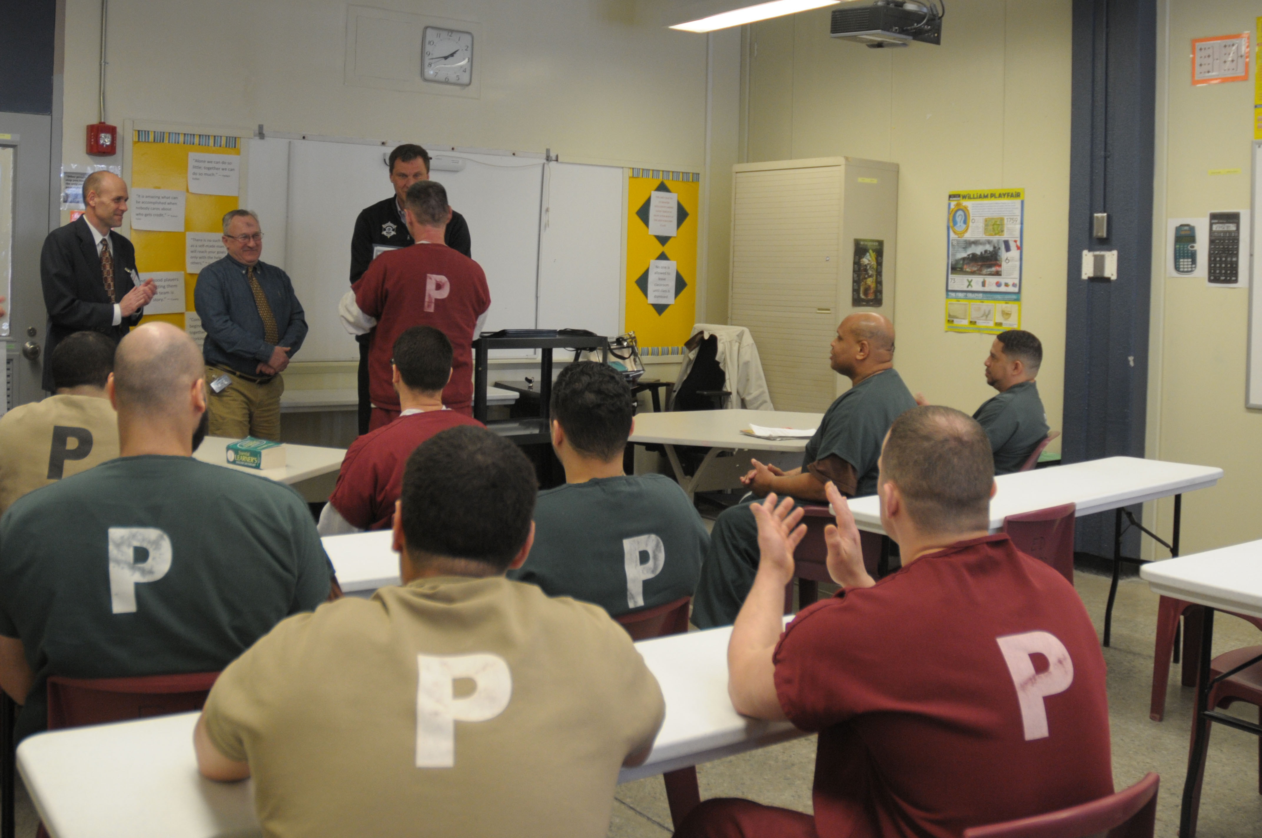 House Of Correction Inmates Graduate From Mwcc Plastics