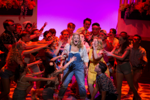Photo of Mamma Mia scene at Theatre at the Mount