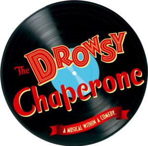 Vinyl record logo of The Drowsy Chaperone