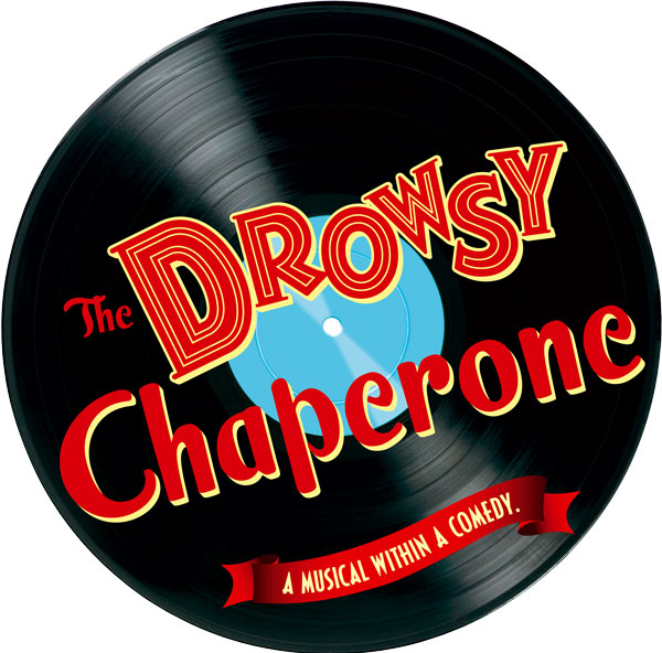 Vinyl record logo of The Drowsy Chaperone