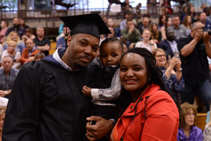 MWCC 2019 Graduate and Family