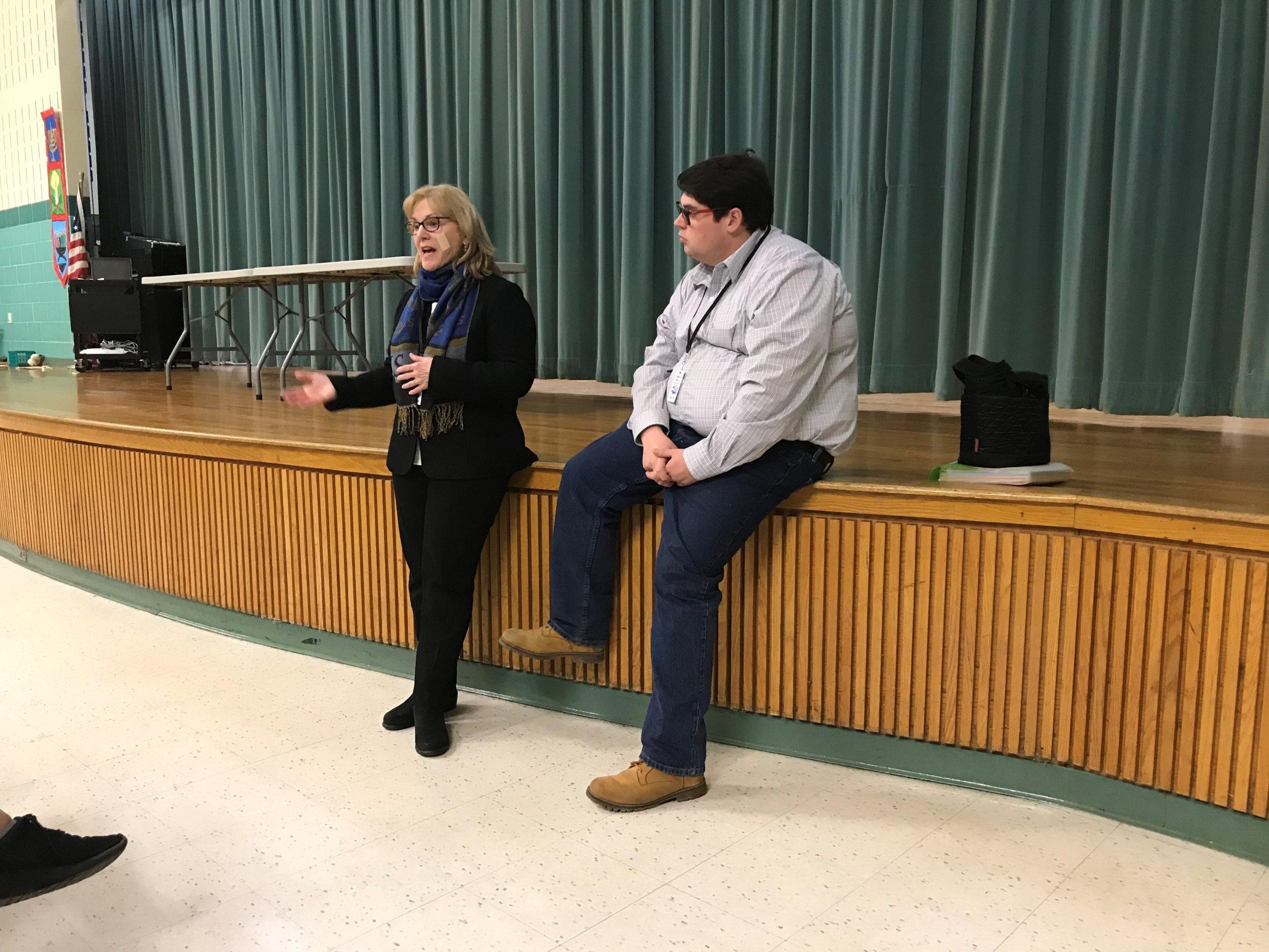 Ginny's Helping Hand, Inc. Visits Samoset Youth Venture Students