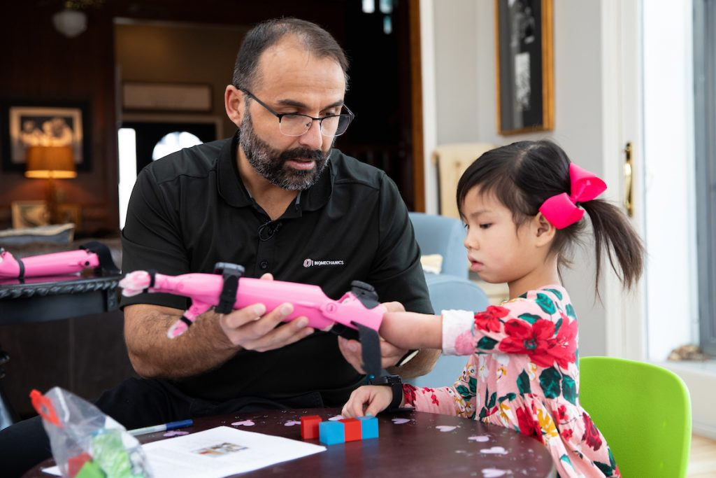Enabling the Future - Girl with Prosthetic Arm