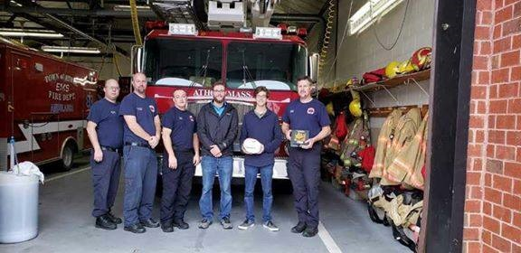 Caleb VanHillo Meals for Shields Athol Fire Station