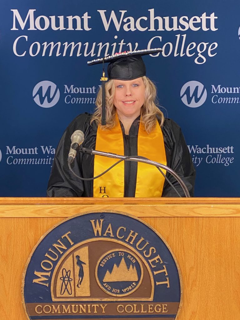 MWCC 2020 Commencement Student Speaker Holly Poissot