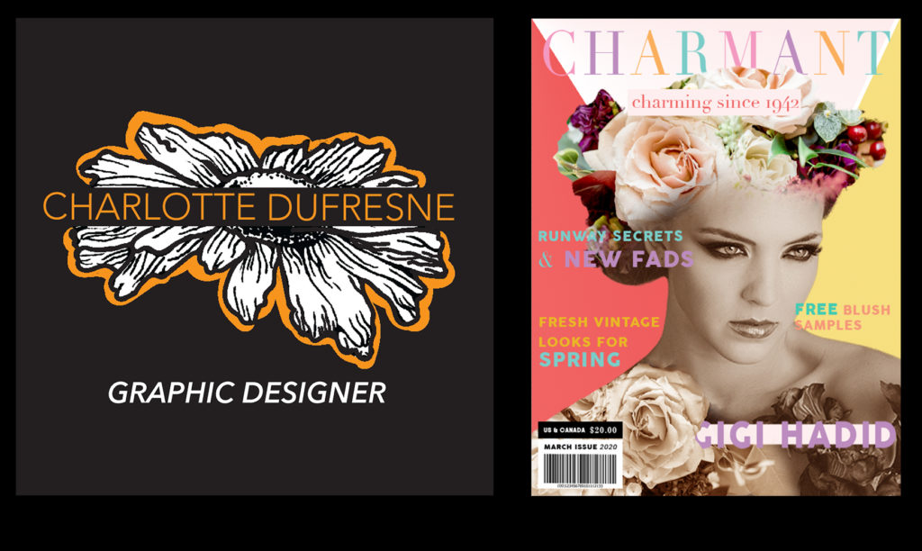 Charlotte Dufresne Personal Branding and Charmant Magazine Cover