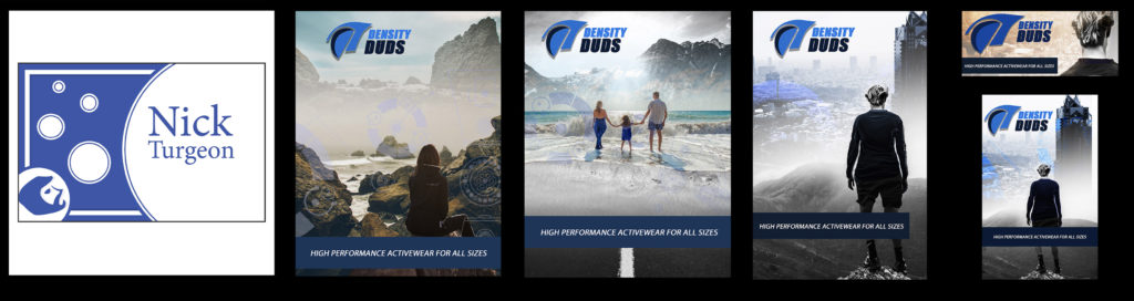 Nicholas Turgeon Personal Branding and Density Duds Design Campaign