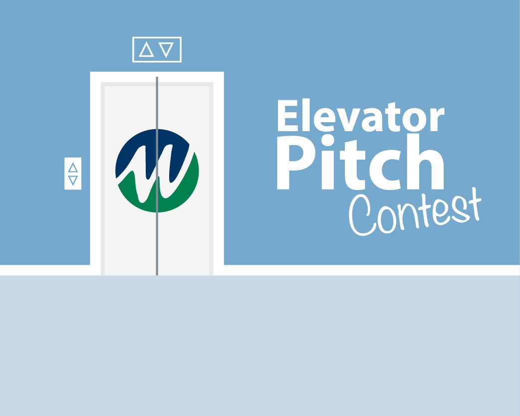 Elevator Pitch Contest Graphic
