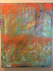 Adoria Kavuma-Winburn, Joy, 2020, acrylic, 24 x 26in