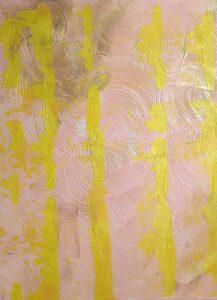 Adoria Kavuma-Winburn, Untitled, 2020, acrylic, 24 x 26in