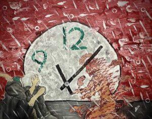 Dazia-Robertson,-You-May-Wait-Time-Won't,-2020,-acrylci,-16x20in