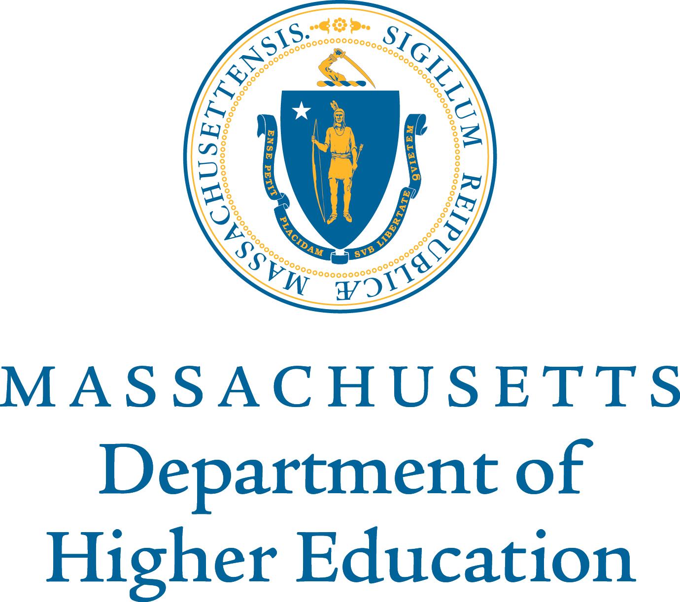 Mass Department of Higher Ed logo