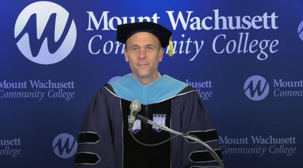 Virtual Graduation Jim Vander Hooven