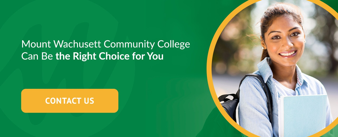 Mount Wachusett Community College Can Be the Right Choice for You