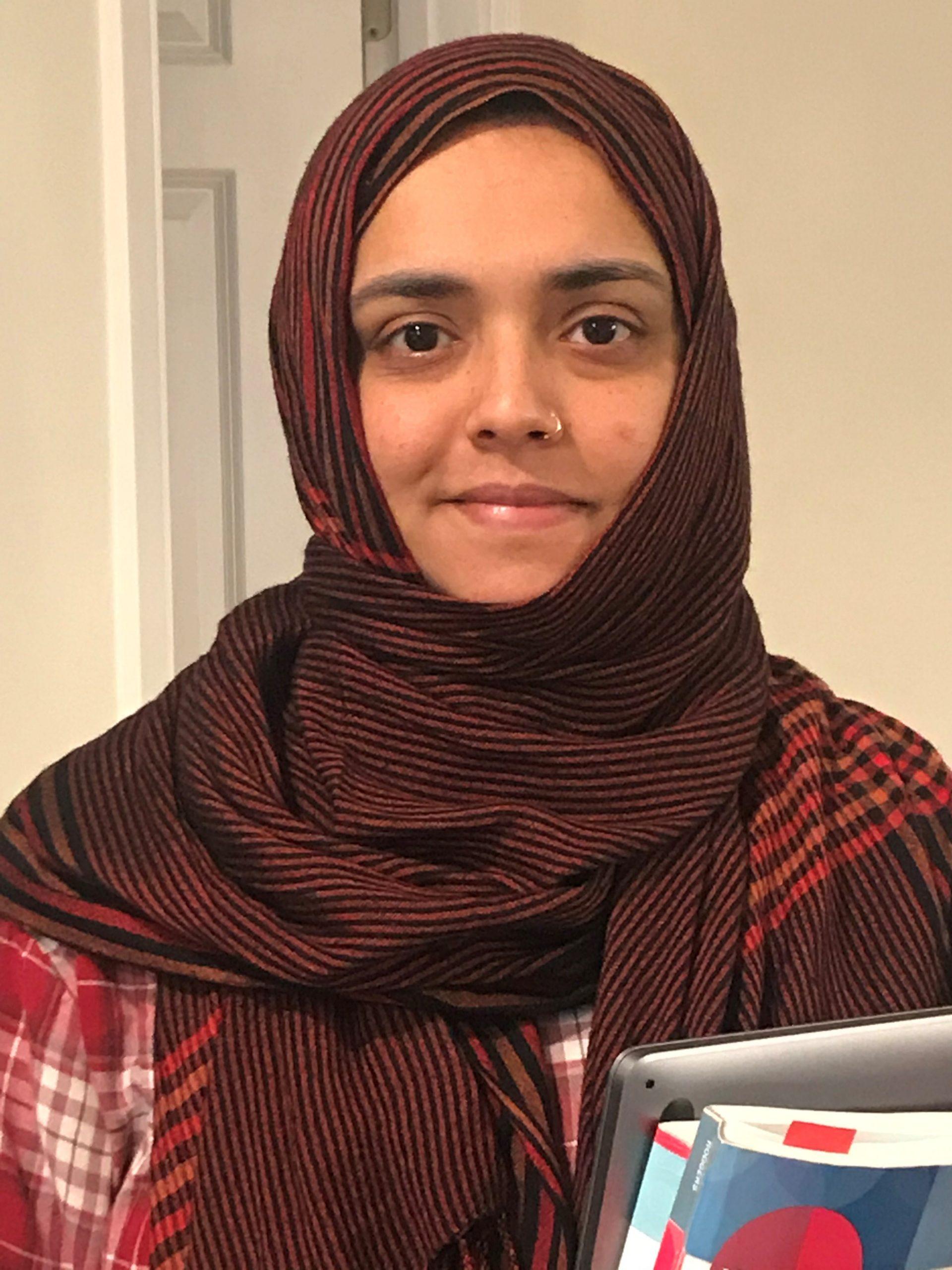 MWCC Student Hafsa Asfa Awarded the Ruth E. Derfler Scholarship
