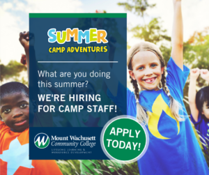 Come Work at MWCC Summer Camp
