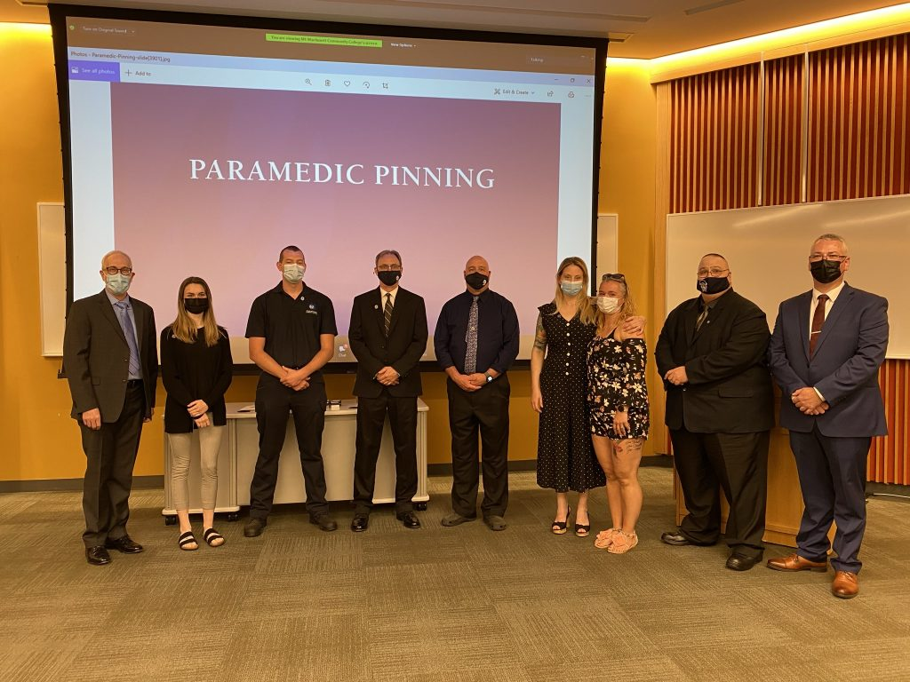 MWCC Paramedic Class of 2021