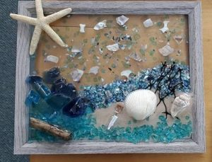 Michael Capers Sea Glass Art